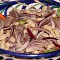 Salade de haricots blancs au thon marine