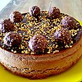 Cheesecake ferrero rocher et nutella
