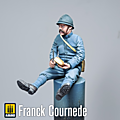 Figurine Poilu 1916 Sorpio models 75mm