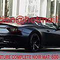 MASERATI GRANSPORT, <b>covering</b> nancy, <b>covering</b> nancy <b>vehicules</b> Total <b>covering</b> noir <b>mat</b>, peinture <b>covering</b> noir <b>mat</b>, <b>covering</b> jant