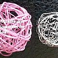 Comment faire des breloques en fil d'aluminium/cuivre - 1re partie: les boules ou cages