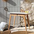Petite table <b>pieds</b> <b>compas</b>