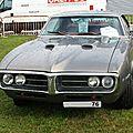 Pontiac firebird 400 formula v8 1967