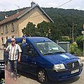 Visites et exposés sur la localisation d'Alesia au bord du Doubs (massif du Jura)