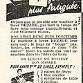 Pub <b>Machine</b> <b>à</b> <b>laver</b> vintage