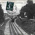 arrivée en gare de Val Fleury