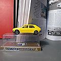 La Renault 14 ou R14 de Norev ! Une miniature d'une voiture trop avant-gardiste pour son époque encore dans sa boîte d'origine !