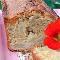Cake pommes - citron à la poudre d'amandes et amaretto (sans gluten) !