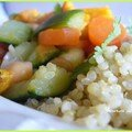 Couscous de quinoa (ou comment commencer la détox en se faisant plaisir)