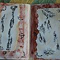 Challenge artjournal et gribouillages # 66 : traces