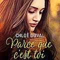 Parce que c'est toi - Au bout du monde tome 1 de Chloé Duval