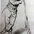 Bida (Alexandre), portrait de Regnault en uniforme (69e bataillon), 1870