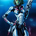 <b>Guardians</b> <b>of</b> <b>the</b> <b>Galaxy</b> Origins : Gamora