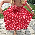 Alcyone-robe en 6 ans