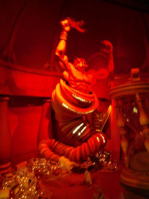 quelques scènes du passage enchanté d'Aladin...