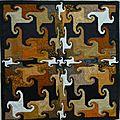 Exposition de patchworks à enghien.