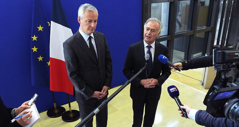 Intelligence économique territoriale: l'ex Normand Bruno LEMAIRE préfère la Garonne à la vallée de la Seine