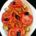 Salade de carotte a l'orientale