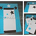 Housse pour <b>tapis</b> <b>à</b> <b>langer</b> petites étoiles
