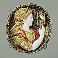 Hat Badge Representing <b>Prudence</b>, Unknown. French, 1550 - 1560