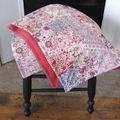 plaid patchwork de LIberty + lainage & cachemire