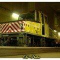 Locotracteur du réseau métro.