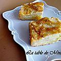 Gâteau aux pommes et aux 3 cuissons