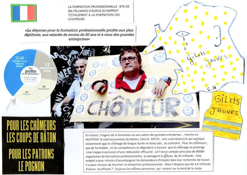 Acte XV de protestation des Gilets Jaunes: le coup de gueule d'un chômeur normand…
