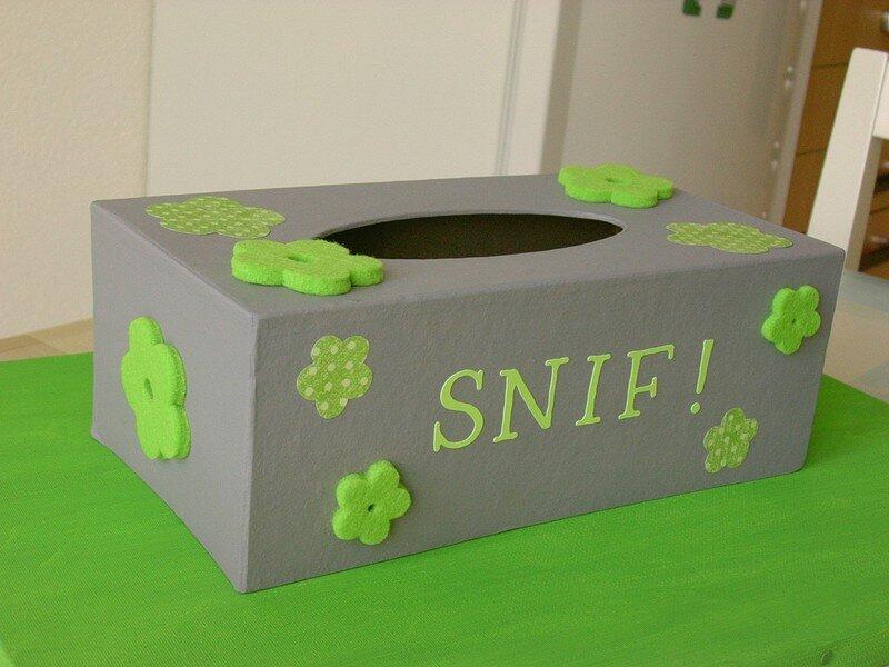 Boîte à SNIF !