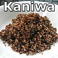 Superfood - Le Kaniwa - Un