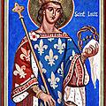 SAINT LOUIS IX ( fête le 25 août )
