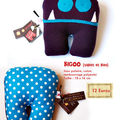 Bigoo (violet et bleu)