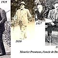Lettre de Maurice Proutaux à Philippe, Clichy, le 17 novembre 1937