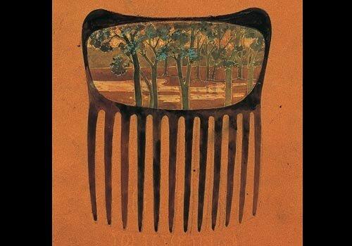 Bijou - Dessin peigne Paysage