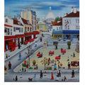 Montmartre 46x55 cm