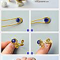 Comment faire les bijoux avec les fils métalliques?