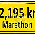 Nouvelle organisation....et marathonienne