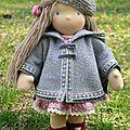 <b>Lalinda</b>, créatrice de poupées Waldorf aux doigts de fée