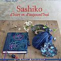 Pour aller plus loin, le livre: Sashiko d'hier et d'aujourd'hui
