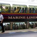 JR 5000系 Marine Liner, Okayama eki