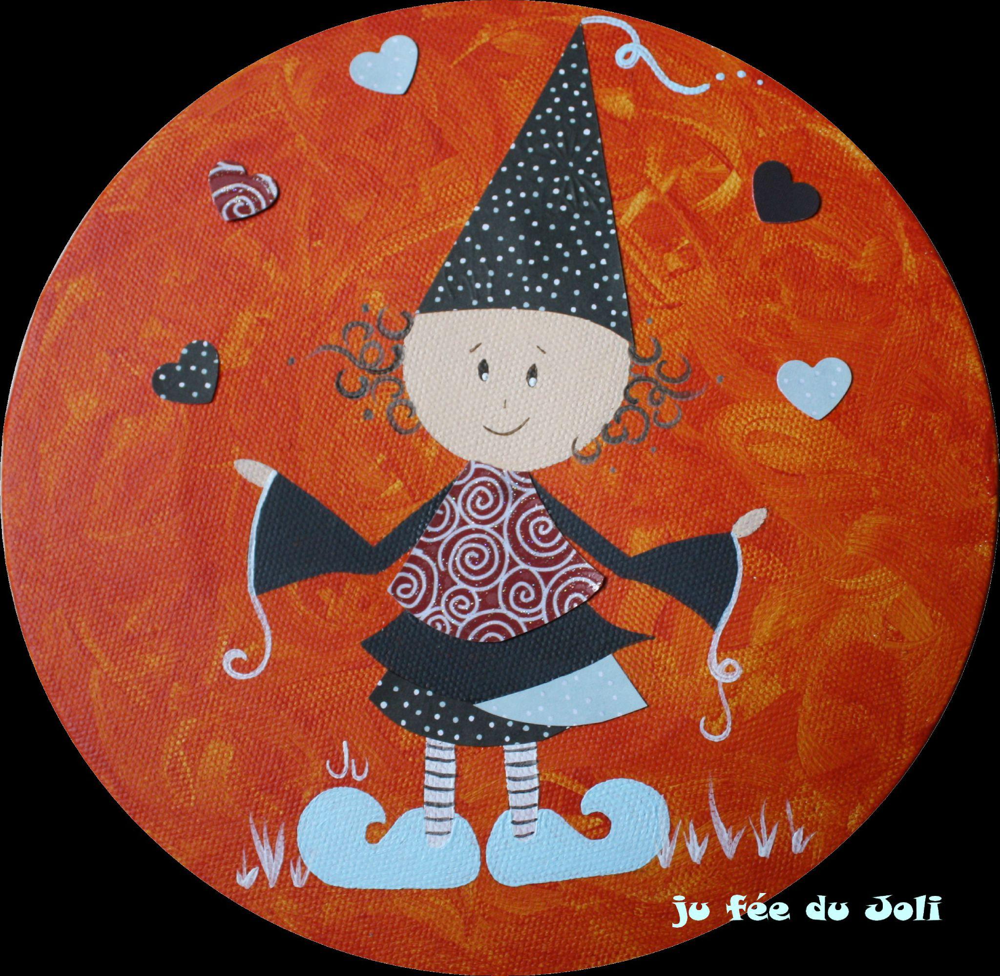 Le jongleur aux petits coeurs
