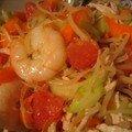 Salade au pomélo