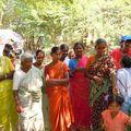 Vilupuram - sur 600 foyers 80 veuves qui ont acheté des chèvres en micro crédit taux zéro.