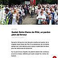 Le Blog des Amis de la Chapelle Notre Dame de Pitié Guidel 56