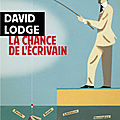 La chance de l'écrivain : le so british <b>David</b> <b>Lodge</b> nous dévoile ses secrets..