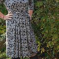 Une robe d'automne
