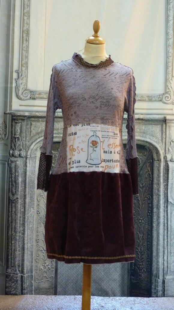 2015-12 Petit Prince, la rose avec NacImag'Ine (2)