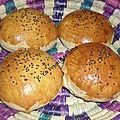 Ma recette de pain hamburger maison testé par silvi