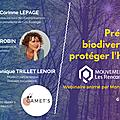 Préserver la biodiversité pour préserver l'humanité