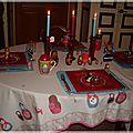 Table matriochkas 3 003